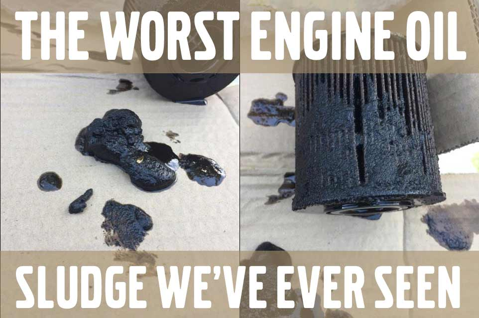 engine oil sludge bad