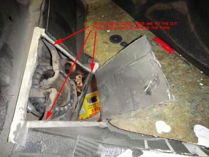 fuel pump replacement 9 - Fuel Pump Replacement DIY V70XC