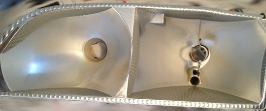Cleaning Headlight Reflectors