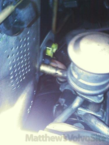 Blown Heater Hose: 1998 S70 T5 - Matthews Volvo Site