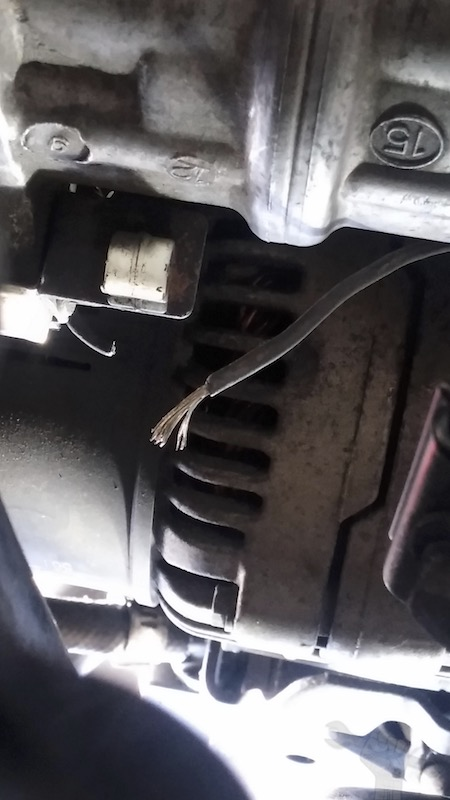 high temp switch5 - Volvo 850 How-To Bypass AC Thermal Switch