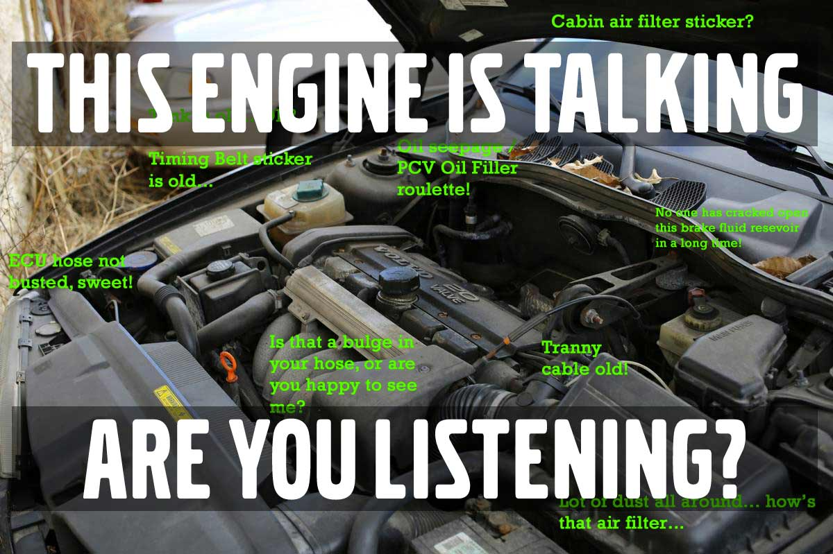 How to Read An Engine In A Craigslist Ad