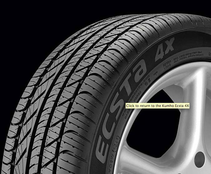 kumho ecsta 4x tires - Big Kumho Ecsta 4x Tires Debate