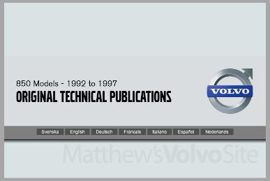 Original Technical Publications 850 Home page