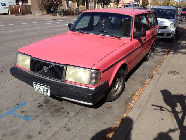 Pink 240 Wagon