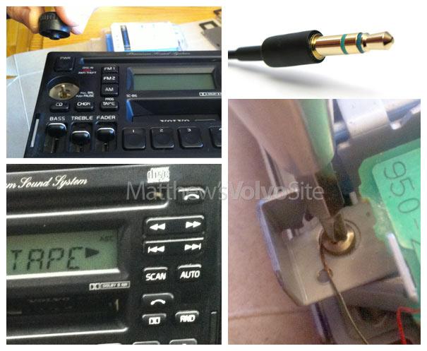 iPhone iPod input tutorial SC815 SC816 Volvo radio headunit