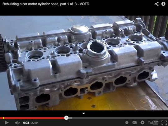 How To Rebuild Head: Most 5-Cylinder Volvos