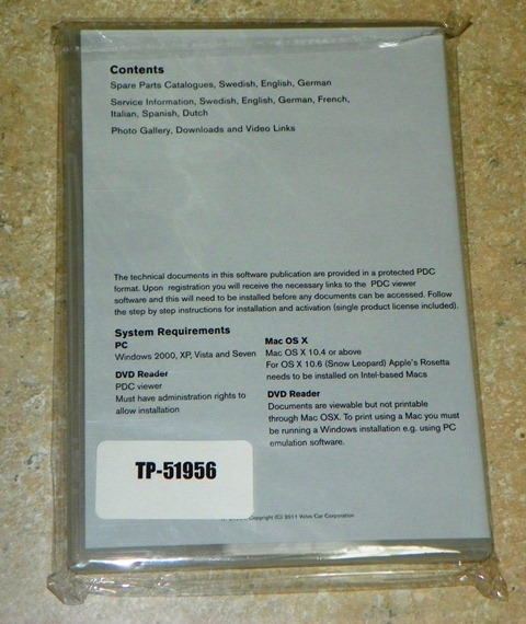 850 Repair Manual CD-ROM package back