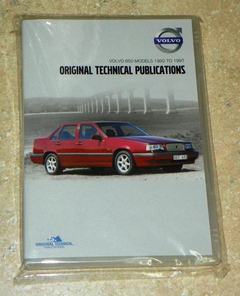 850 Repair Manual CD-ROM package cover