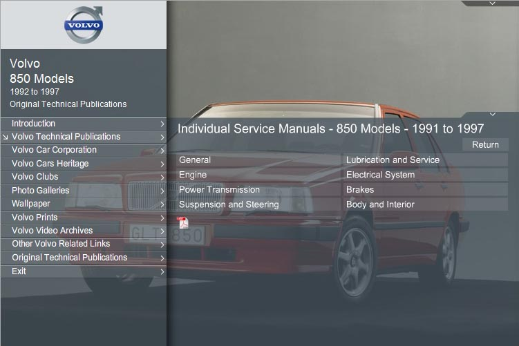 850 Repair Manual CD-ROM service