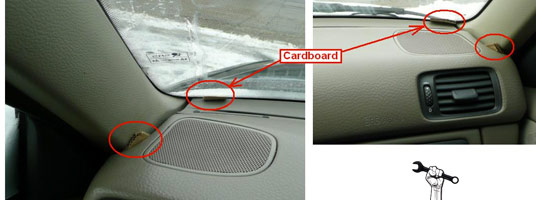 S70 Dash Rattle Ghetto Fix