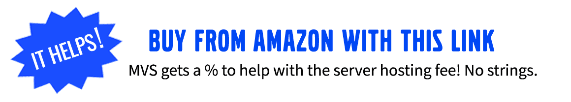 Save money and Help MVS with this Amazon link!