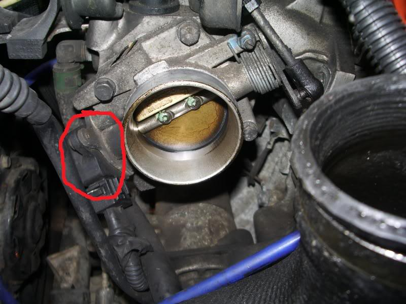 throttle body vs  new map sensor
