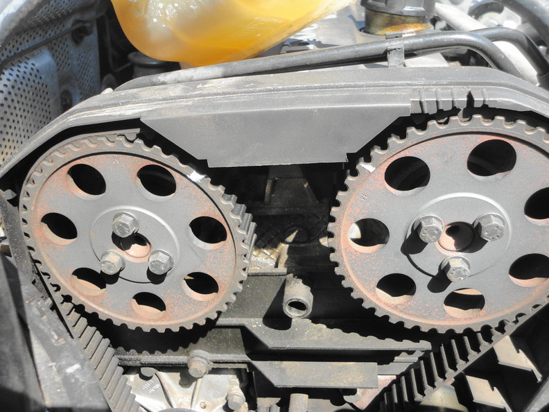 Changing the Timing Belt