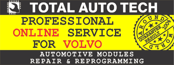 Volvo modules repair and programming