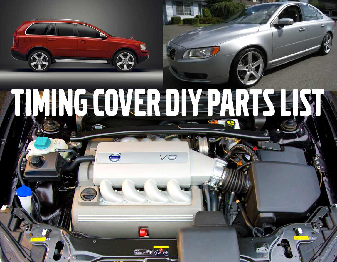 v8 timing cover parts list
