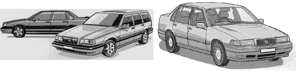 1997 Volvo Models
