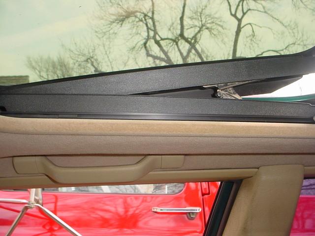 Volvo 850 Sunroof Headliner Repair
