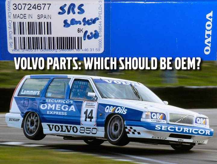 Volvo Parts: OEM Only