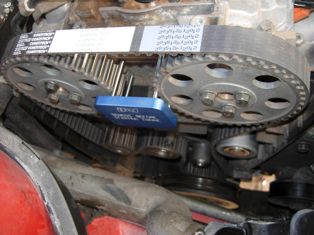 When To Change Timing Belt >> Volvo 960 Timing Belt Change
