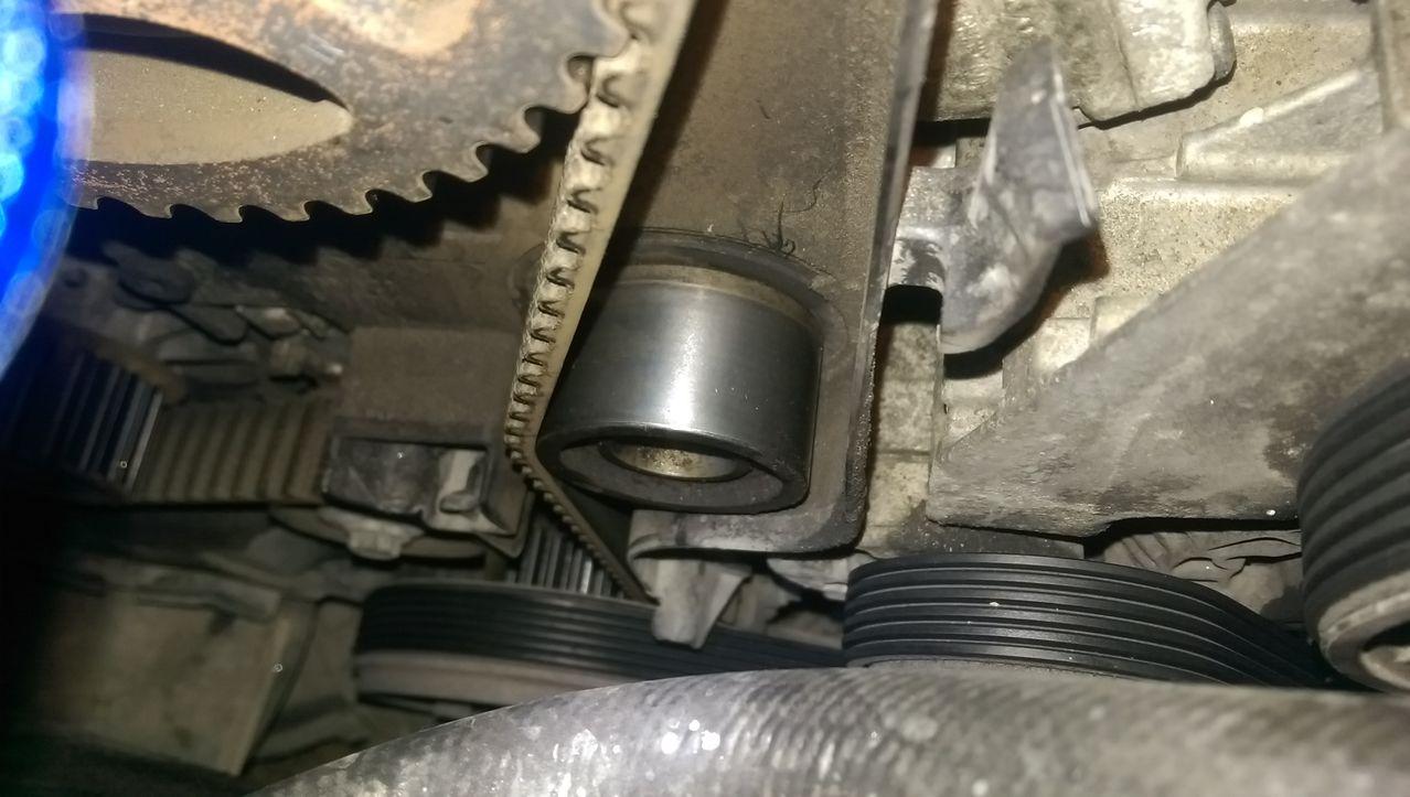 volvo timing belt change