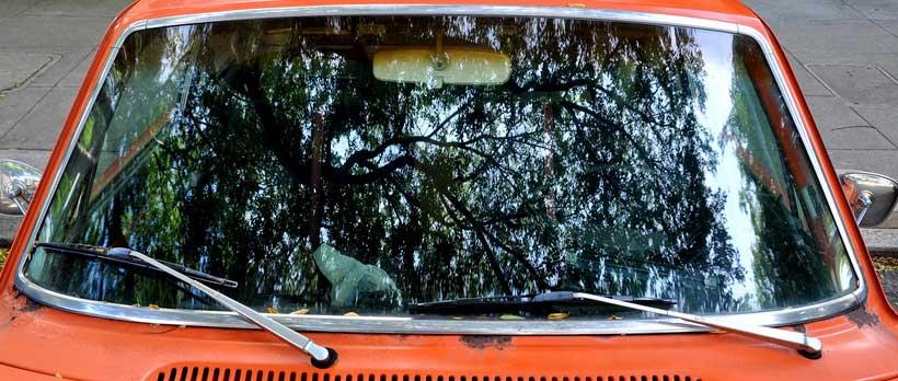 volvo windshield trim