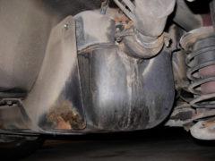 volvo fuel tank leak