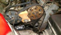 volvo timing belt repair