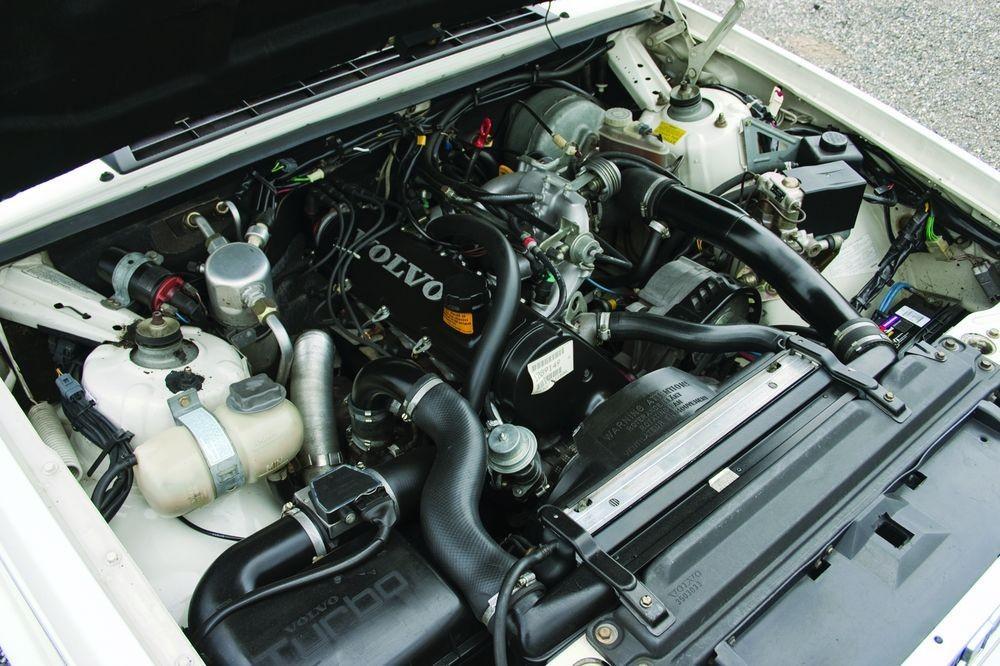 volvo turbo engine