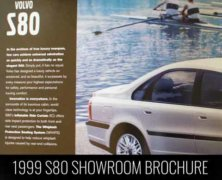 S80 1999 Sales Brochure