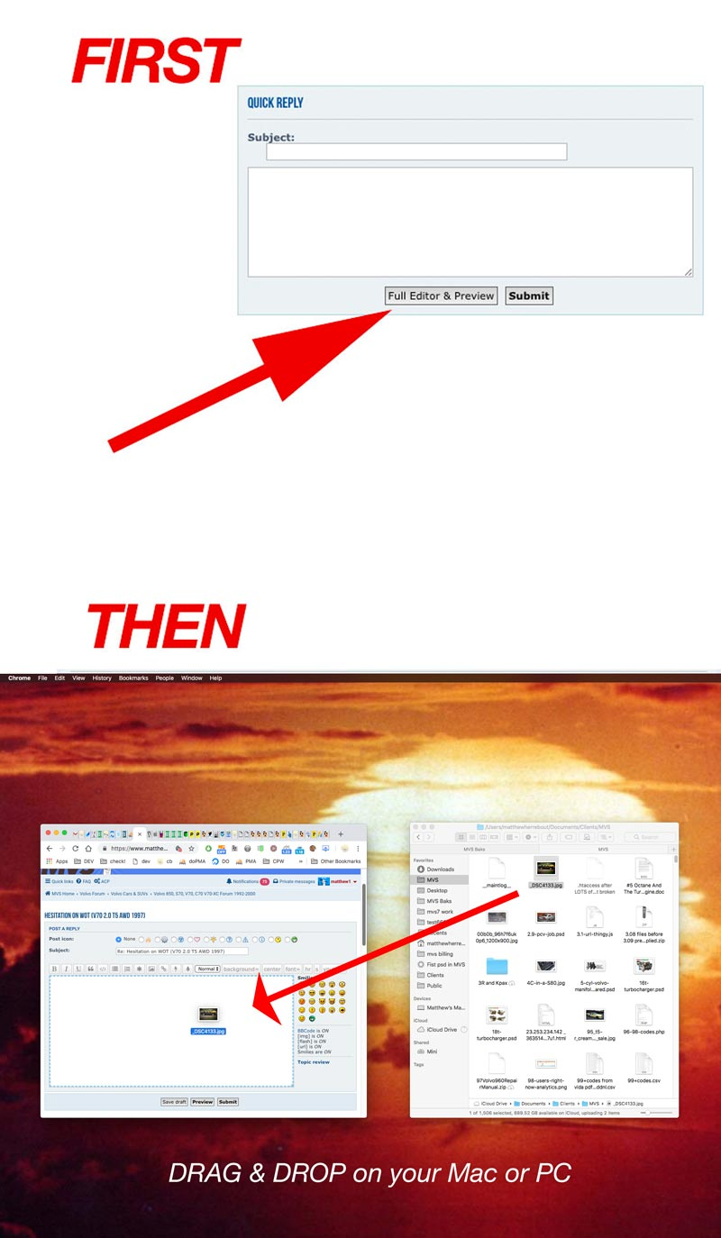 How To Post A Photo2 -