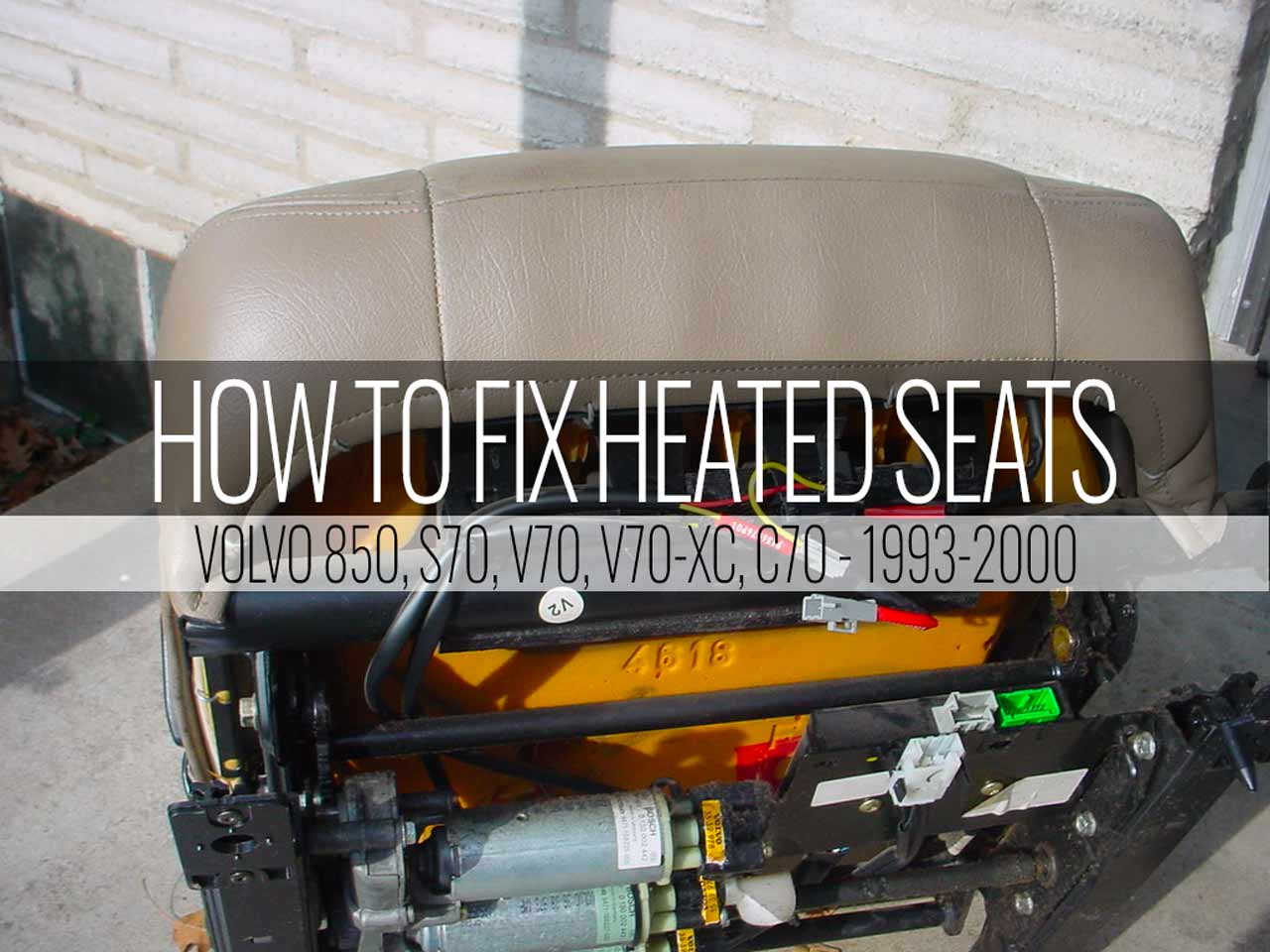 850 Heated Seat Not Working? Here's The Fix