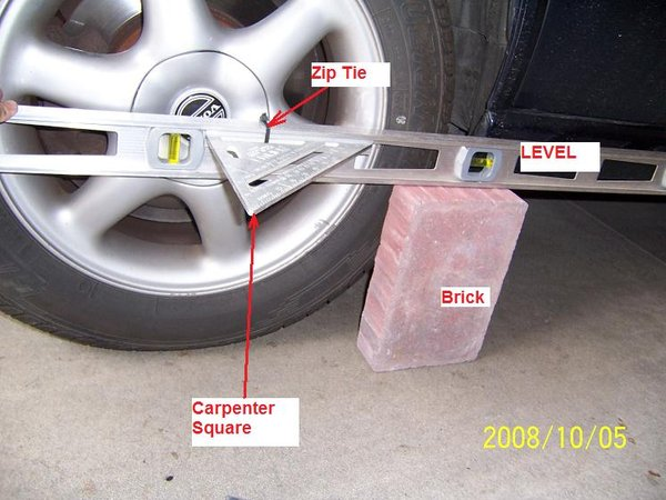 Wheel Alignment Tools >> Car Alignment Tricks Using Common Tools