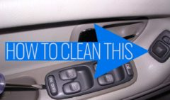 Side Mirror Switch Cleaning -