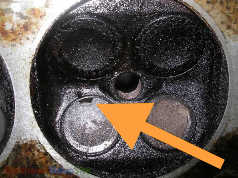 What causes a valve to