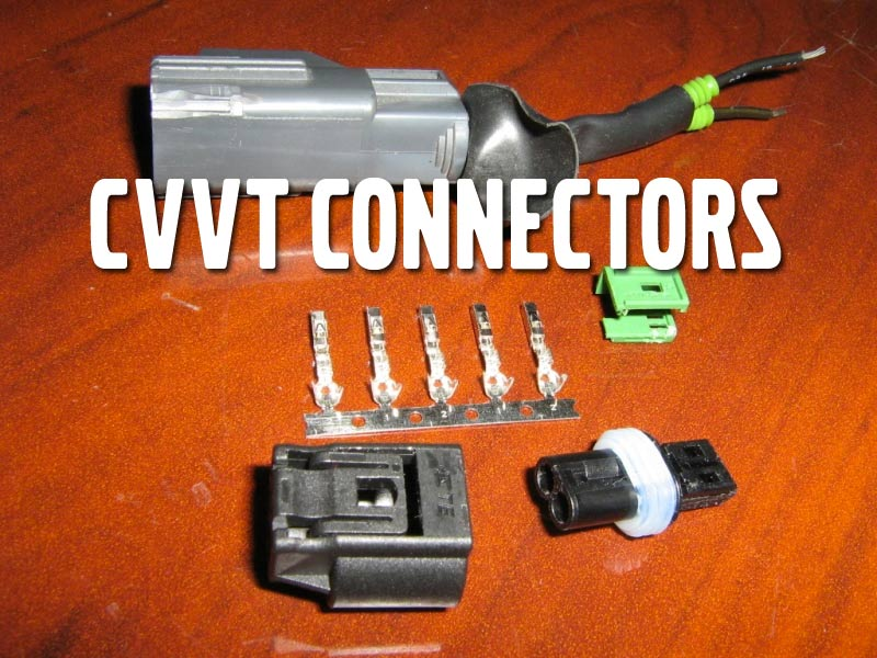 Replace the connectors on the CVVT