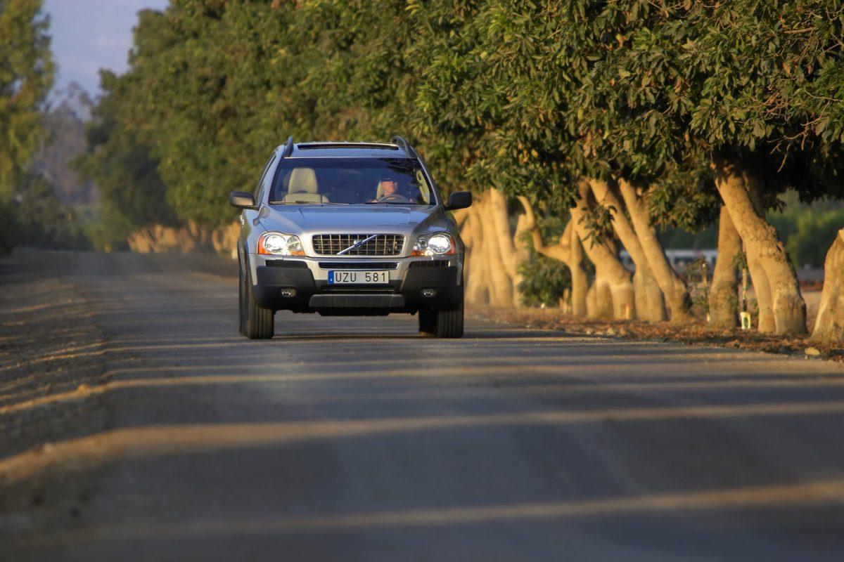 Volvo XC90 V8 -  silver, XC90 V8
