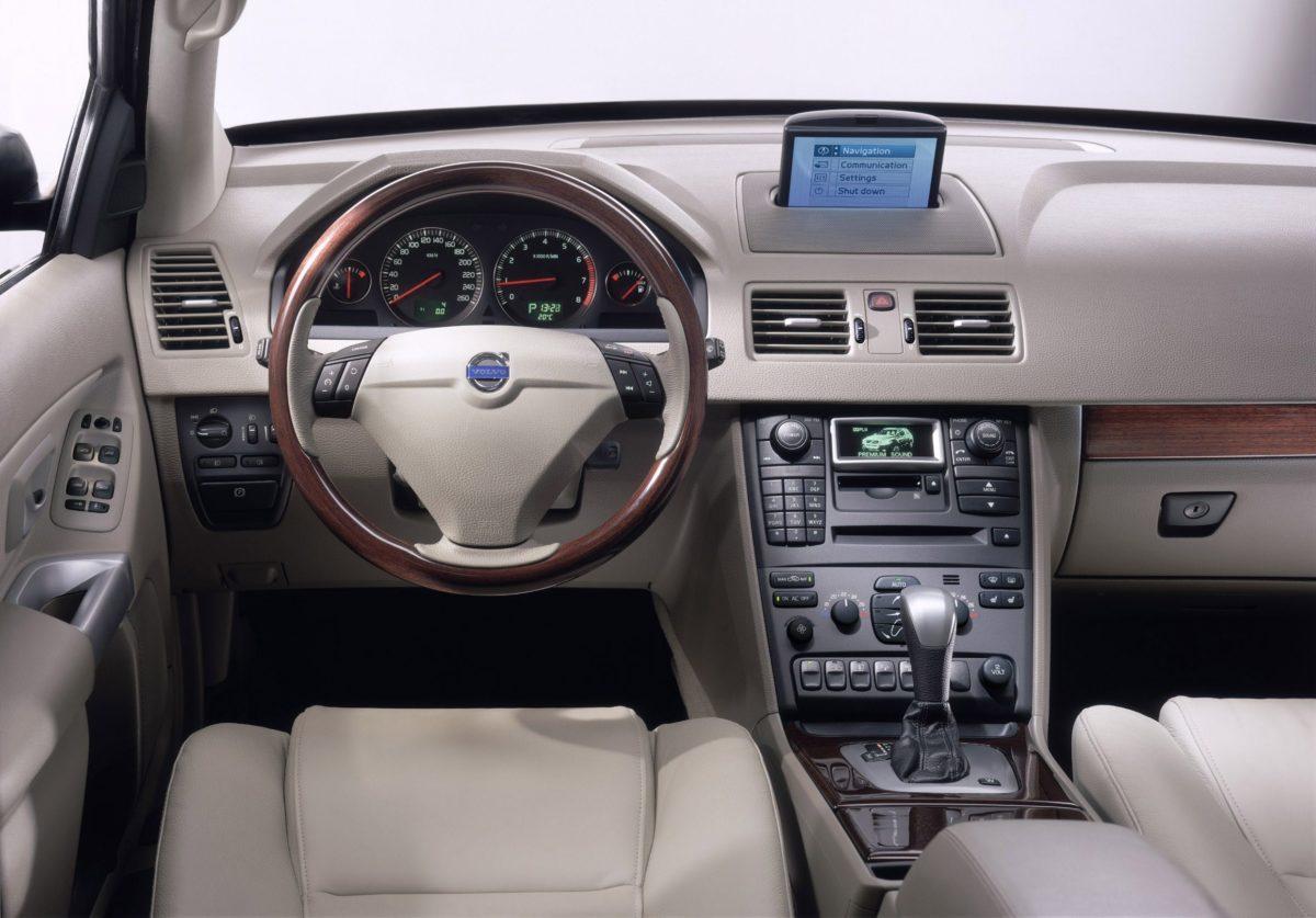 Volvo XC90 First Generation -  Interior, XC90, XC90 interior