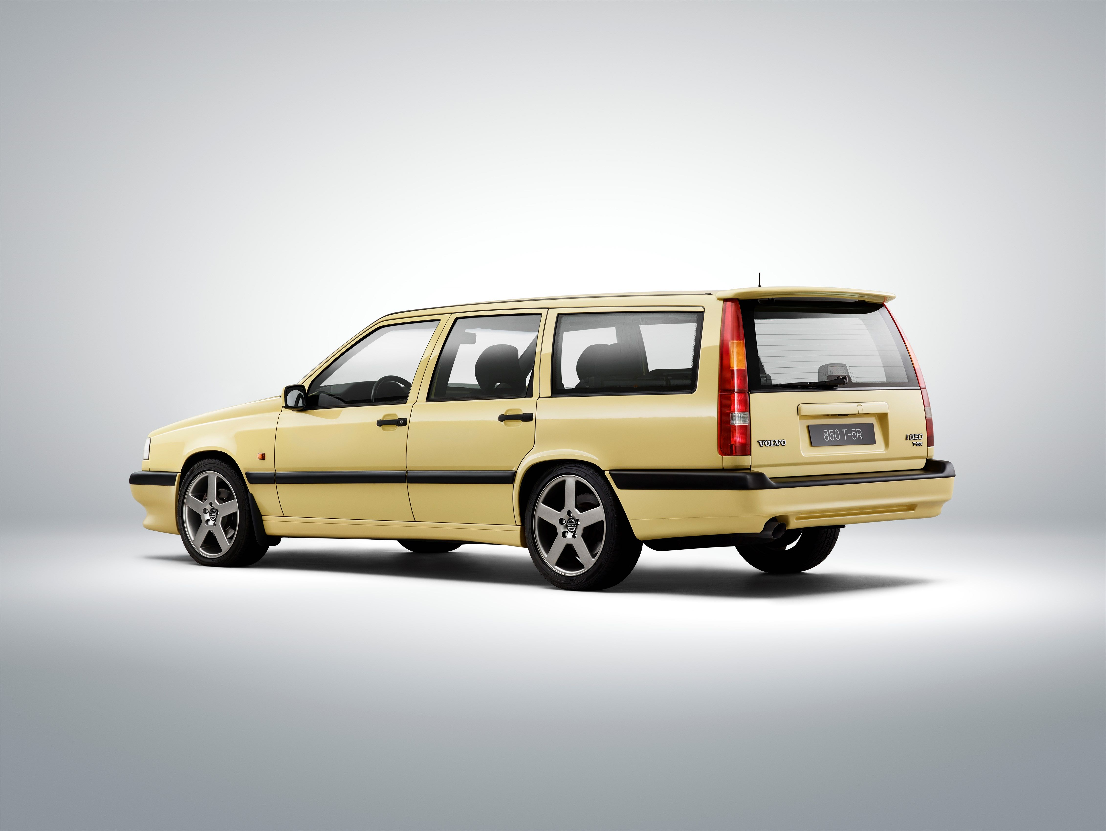 1995 Volvo T 5r 850 -  850, 850 wagon, 1991, 1995, Exterior, Historical, Images, T-5R, Yellow, Yellow T-5R