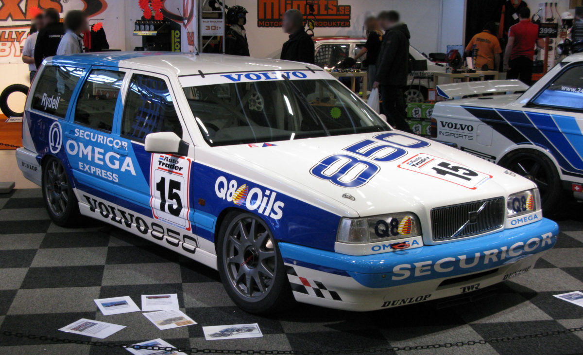 Volvo 850 BTCC Race Car - 850, BTCC, Volvo Racing