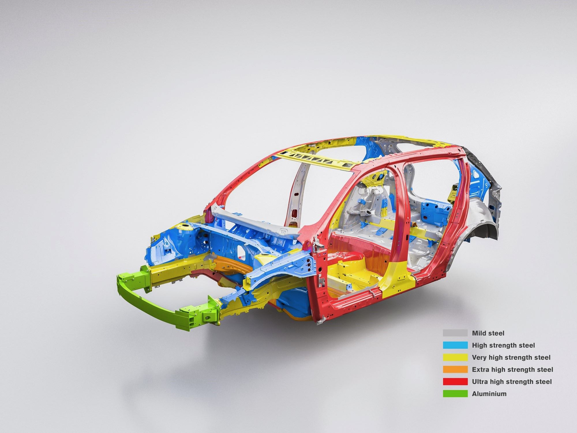 New Volvo XC40 Steel Cage Infographic -  2017, 2018, 2018 New XC40, Illustration, Images, New XC40, Safety