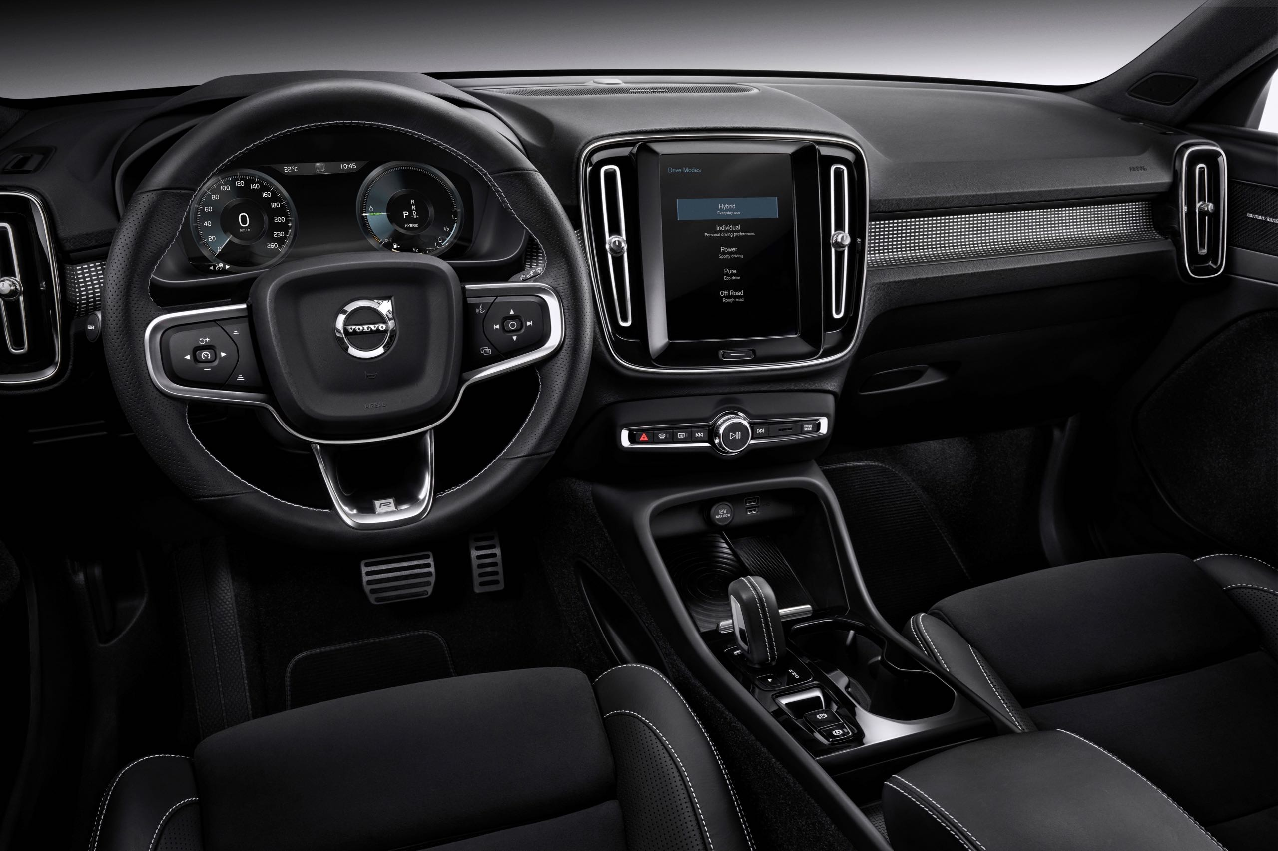 New Volvo XC40 T5 Plug In Hybrid -  2018, 2018 New XC40, Detail, Electrification, Images, Interior, New XC40, Studio, Technology