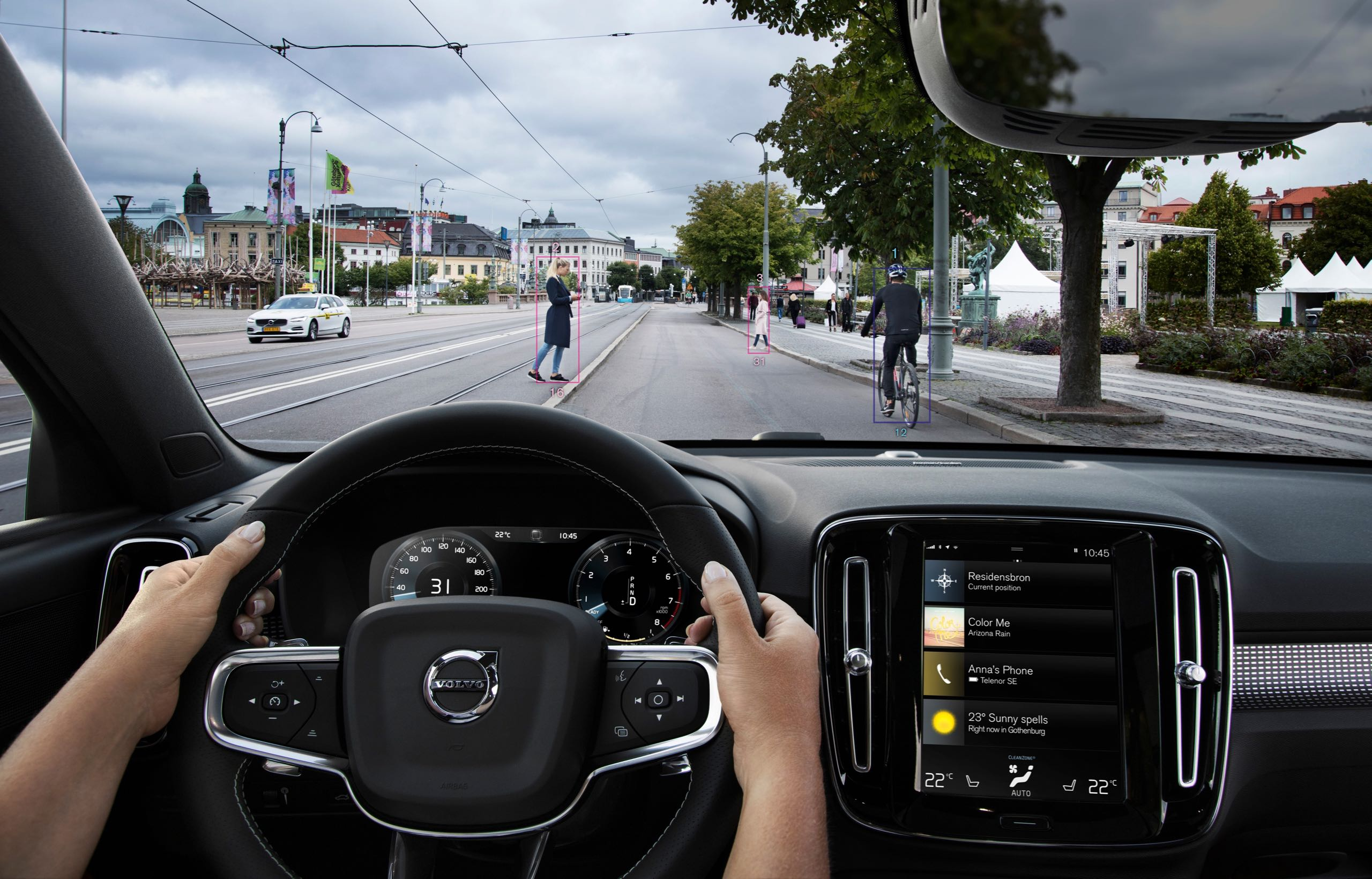 New Volvo XC40 City Safety -  2017, 2018, 2018 New XC40, Exterior, Images, New XC40, Other, Safety