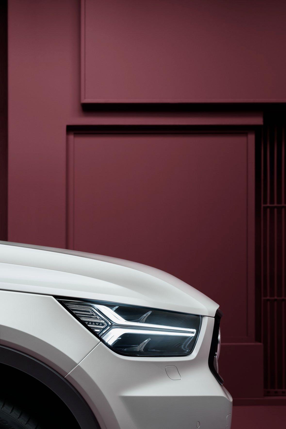 New Volvo XC40 Exterior Detail -  2017, 2018, 2018 New XC40, Design, Detail, Exterior, New XC40