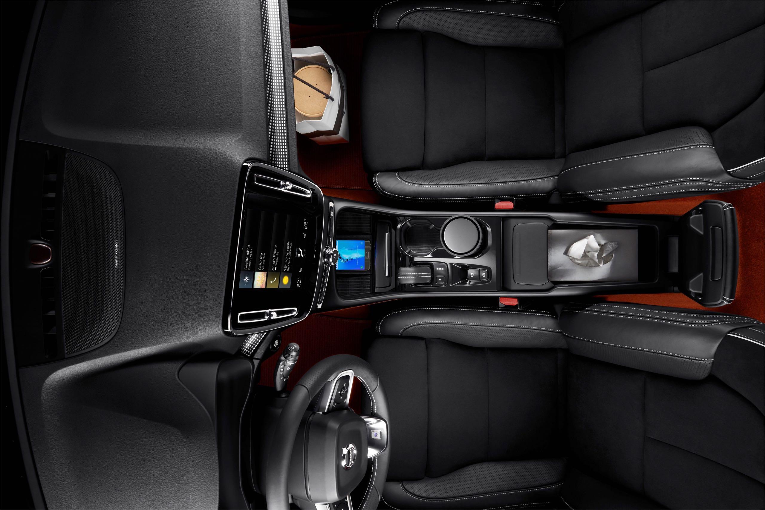 New Volvo XC40 Interior -  2017, 2018, 2018 New XC40, Interior, New XC40