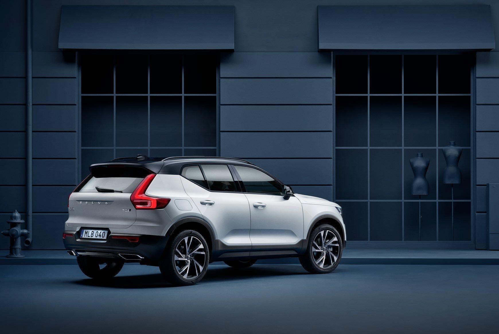 New Volvo XC40 Exterior -  2017, 2018, 2018 New XC40, Design, Exterior, New XC40