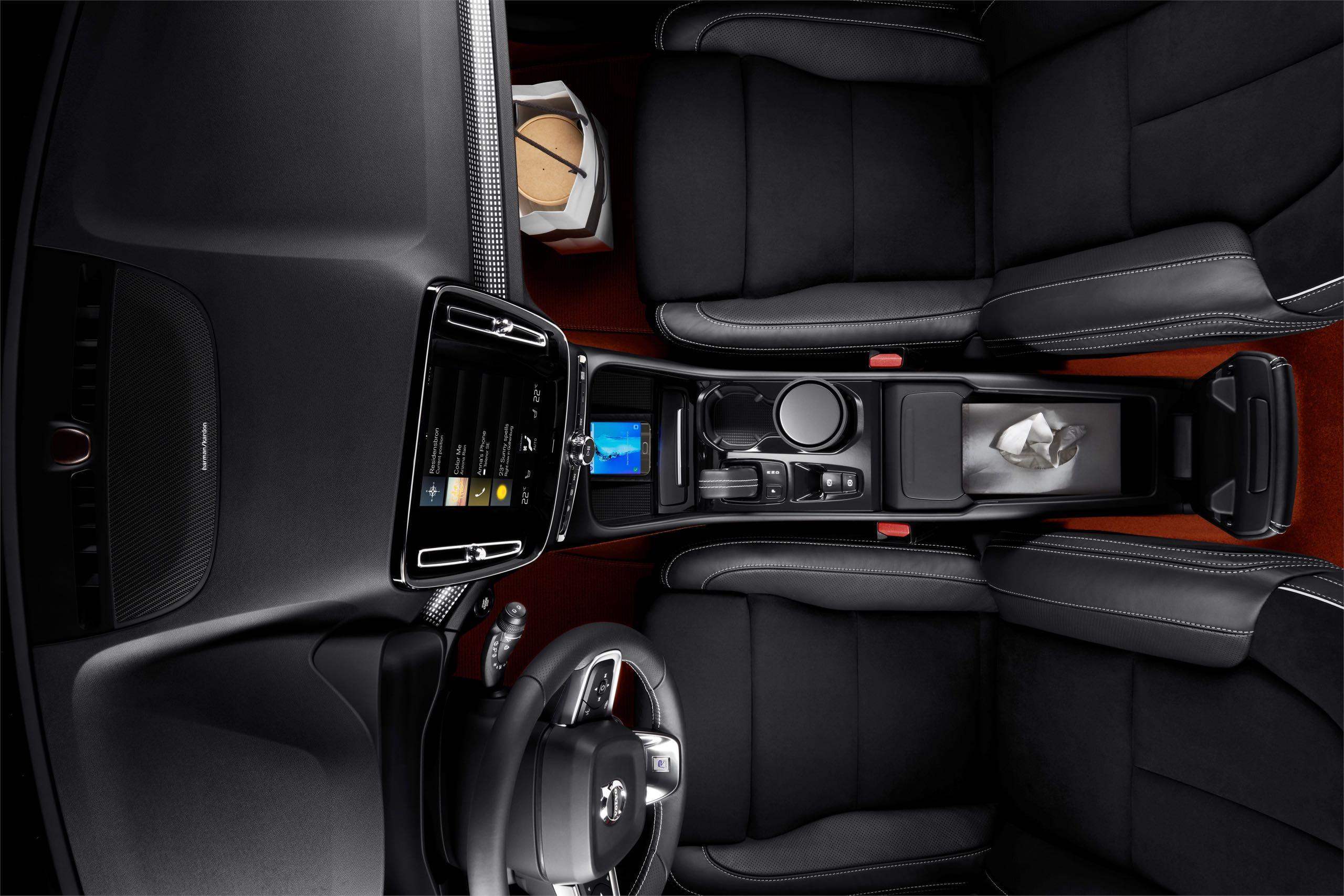 New Volvo XC40 Interior -  2017, 2018, 2018 New XC40, Images, Interior, New XC40