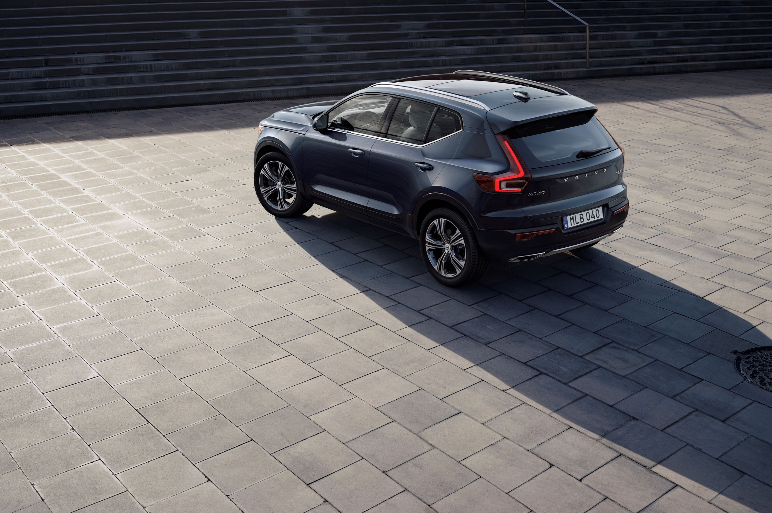 New Volvo XC40 Exterior -  2018, 2018 New XC40, Design, Exterior, Images, New XC40