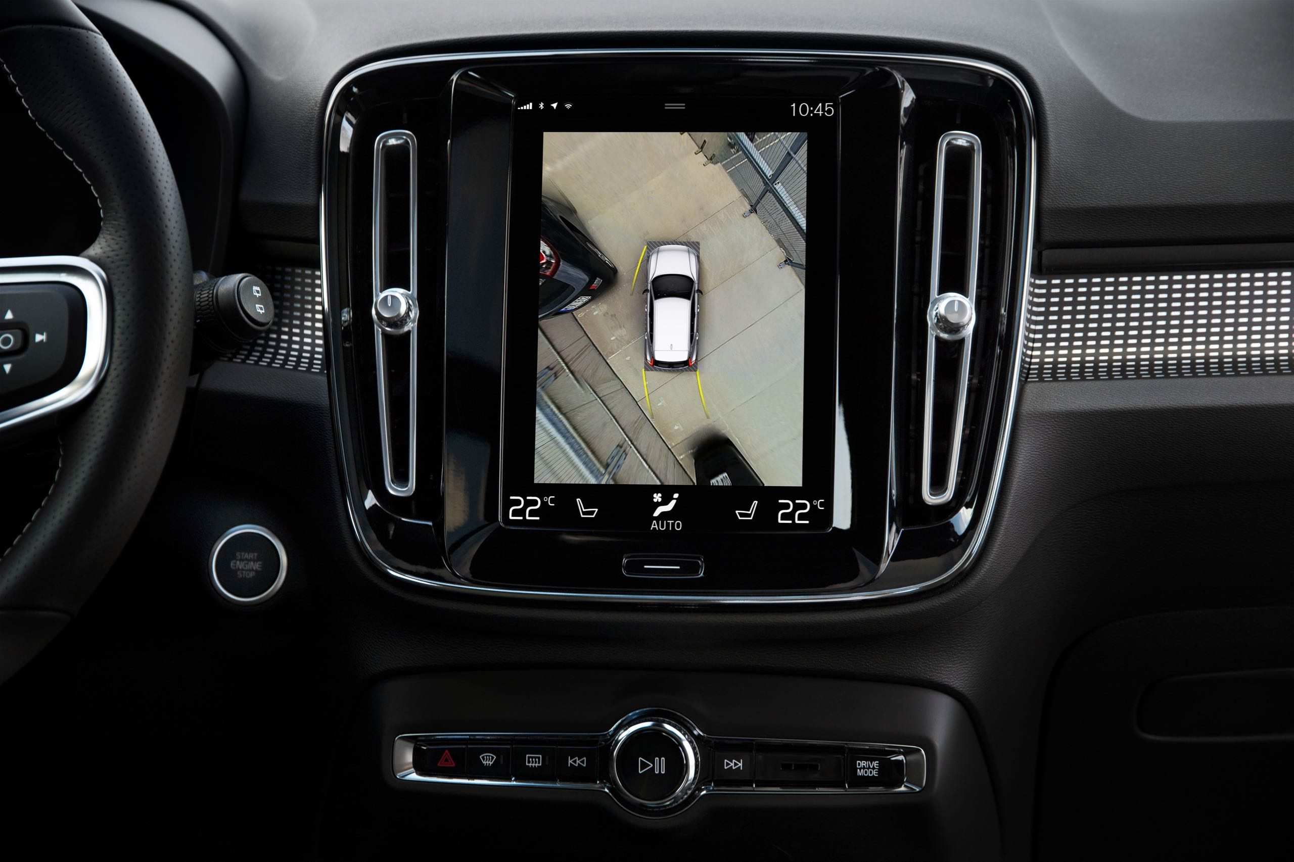 New Volvo XC40 360 Camera -  2017, 2018, 2018 New XC40, Detail, Images, Interior, New XC40, Technology