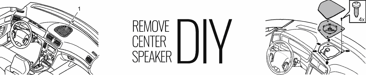 Center Speaker - How to remove it